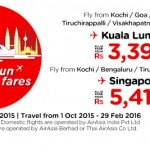 AirAsia Promotion From India September 2015