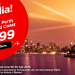 AirAsia Airlines India Promotions January 2016