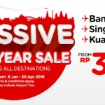 AirAsia Airlines Indonesia Promotions January 2016