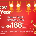 AirAsia Promotion Chinese New Year BIG SALE 2016