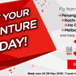 AirAsia Malaysia Airlines Promotions May 2016