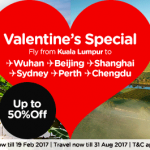 AirAsia Online Discount February 2017 Fly From Kuala Lumpur