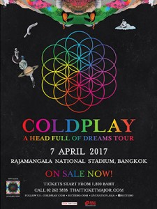 AirAsia Fly from Kuala Lumpur to Chiang Mai Thailand April 2017 - coldplay 2017 bangkok concert