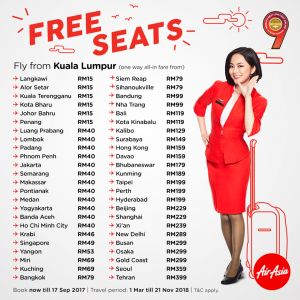 BOOK AIRASIA PROMOTION TICKET - Free Seat Promotion
