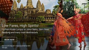 AirAsia Promotions To Johor Bahru September 2017 - AirAsia Low Fares High Spirits Promo 2017