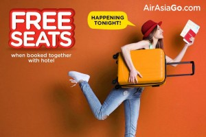 AirAsia Promotions From Kuala Lumpur September 2017  - AirAsiaGo Free Seats Book With Hotel