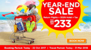 AirAsia Cheap Flights To Hong Kong 2017 - AirAsiaGo Year End Sale