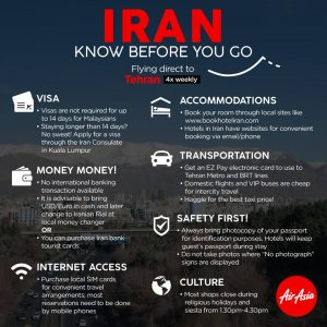 AIRASIA FLIGHTS TO IRAN 2017 PROMOTION - Iran Travel Advice