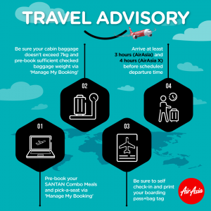 AirAsiaGo Free Seats Promotion 2017 - travel advisory