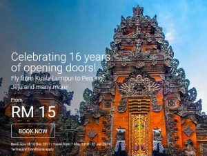 AIRASIA ROAD TO 2018 FIFA WORLD CUP - 16Years of Celebration Promotion 2017