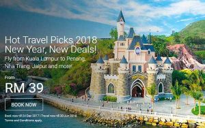 AIRASIA BRUNEI TO KUALA LUMPUR PROMOTION 2017 - AirAsia Hot Travel Picks 2018 Promotion