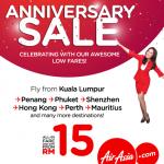 AirAsia Anniversary Sale 2017