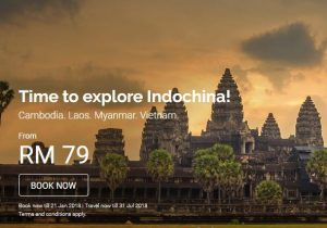 FLIGHT TO KUALA TERENGGANU - AirAsia Explore IndoChina Promotion 2018