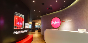 AIRASIA FLATBED SALE - Premium Red Lounge Access