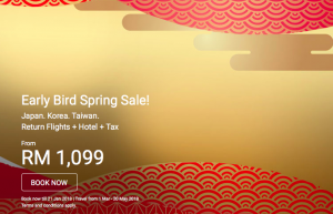 AIRASIA TAIWAN FLIGHT - AirAsiaGo Early Bird Spring Sale