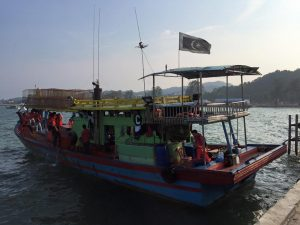 FLIGHT TO KUALA TERENGGANU - Squid Fishing Teratai Homestay