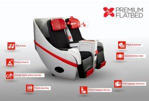AIRASIA FLATBED SALE - Premium Flatbed Seat