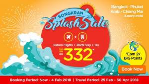 AIRASIA THAILAND PROMOTION 2018 - AirAsiaGo Songkran Splash Sale