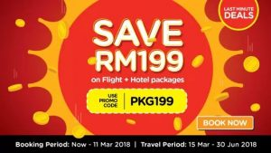 AIRASIA FLIGHT FROM KUALA LUMPUR TO MELBOURNE - AirAsiaGo Save RM199