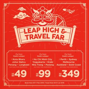 AIRASIA FACES - Leap High & Travel Far Promotion