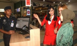 AIRASIA FACES - Security Clearance