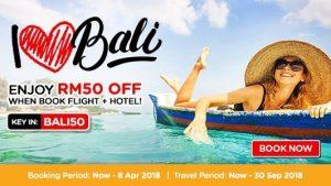 AIRASIA FLIGHT TO BALI - I Love Bali Promo