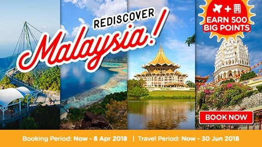 Rediscover Malaysia AirAsiaGo