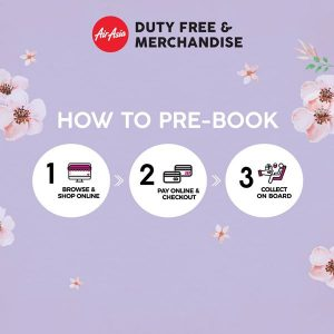 FLIGHT TO HANOI AND PHUKET FROM PENANG - Pre-book AirAsia Merchandise
