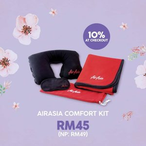 FLIGHT TO HANOI AND PHUKET FROM PENANG - AirAsia Comfort Kit