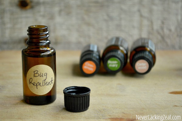 DIY Homemade Bug Repellant