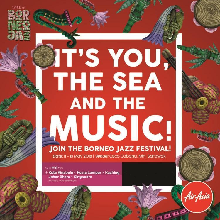 13th Borneo Jazz Festival AirAsia
