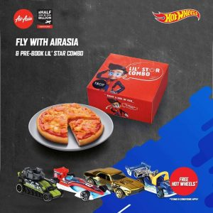 AirAsia Free Seats May 2018 - AirAsia Meal Free Hot Wheels