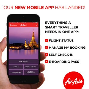 AirAsia Free Seats May 2018 - AirAsia Mobile-App