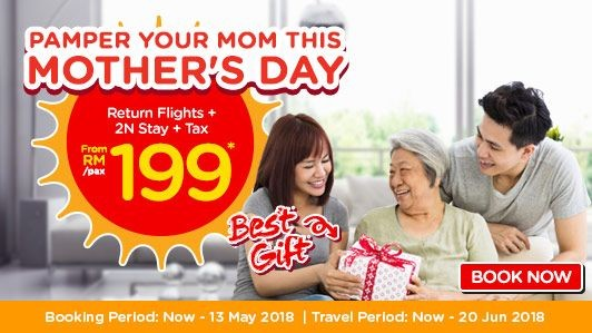 AirAsiaGo Mothers Day
