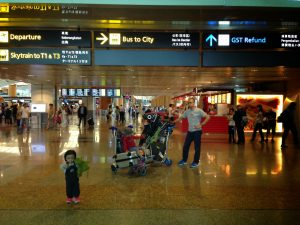 AIRASIA BALIK RAYA FLIGHTS 2018 - Changi Airport