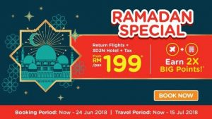AIRASIA BALIK RAYA FLIGHTS 2018 - Ramadan Special AirAsiaGo