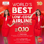AIRASIA PROMOTION 2018 - AirAsia 10 years