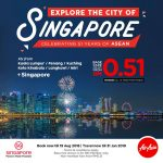 CHEAP FLIGHT TO SINGAPORE FROM MALAYSIA - Celebrating 51 years of ASEAN