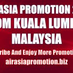 AirAsia Promotion From Kuala Lumpur March 2019