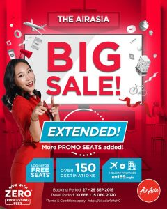 AirAsia BIG SALE 2019 Last Call Extended