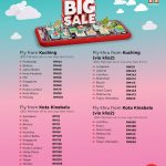 AirAsia BIG SALE 2019 Fly From Kuching