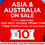 AirAsia Booking 15-21 August 2016 Special Offer|  Book Low Fares Online Now !!!