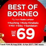 Hurry !!! AirAsia Booking Kota Kinabalu Sabah 2016 – Expires on 21 August 2016