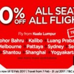 AirAsia Online Promotions March 2017 From Kuala Lumpur to Krabi Thailand