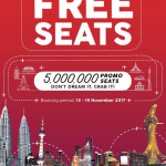 AIRASIA FREE SEATS NOVEMBER 2017 PROMOTION
