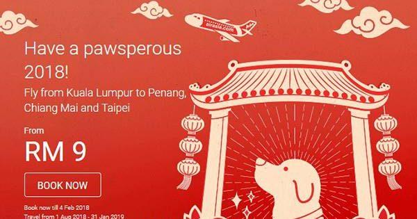 AirAsia Pawsperous 2018 Promo