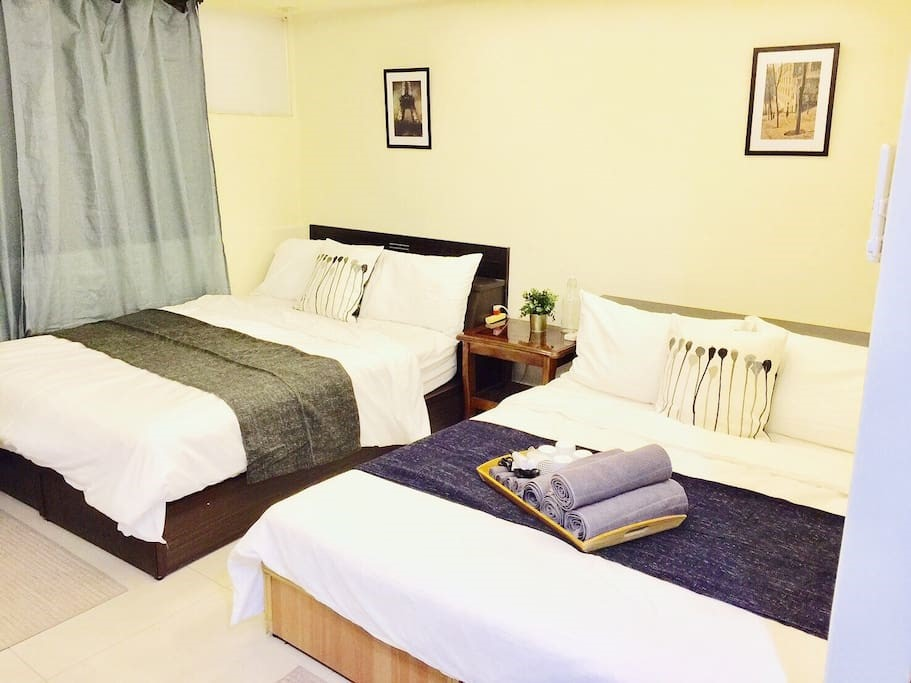 serviced apartment for rent via airbnb