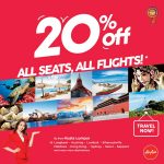 AIRASIA PROMOTION 20% OFF ALL SEATS, ALL FLIGHTS! - AirAsia Promotion February 2018