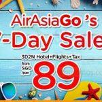 AIRASIA SINGAPORE PROMOTION 2018 - AirAsiaGo 7-Day Sale