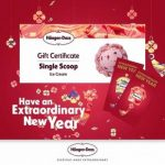 AIRASIA SINGAPORE PROMOTION 2018 - Haagen-Dazs Chinese New Year Promotion
